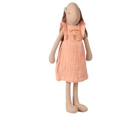 Maileg Hase mit rosa Kleid Größe 3