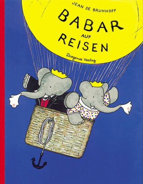 Buch Babar auf Reisen