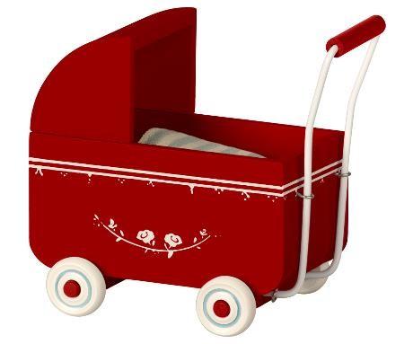 Maileg Puppenwagen My Rot