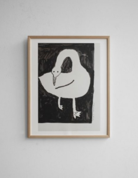Fine little Day Poster Swan