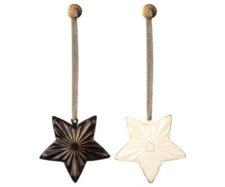 Maileg Anhänger Sterne Metall 2er Set