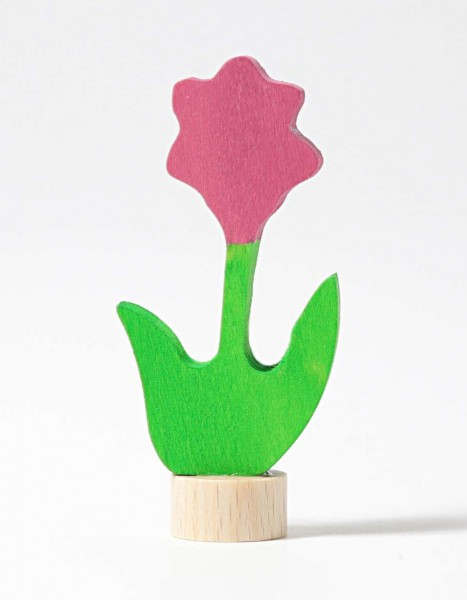 Grimm´s Stecker rosa Blume