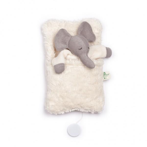 Nanchen Natur Spieluhr Elefant im Schlafsack
