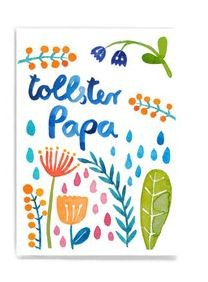 Frau Ottilie - Postkarte tollster Papa