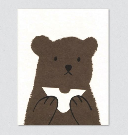 Lisa Jones Postkarte Butty Bear