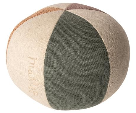 Maileg Ball Dusty Green / Coral Glitzer