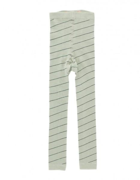 Tinycottons Stripes Leggings pistacho