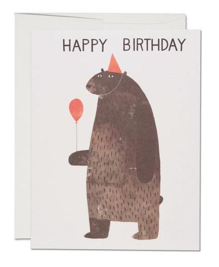 Karte Party Bear
