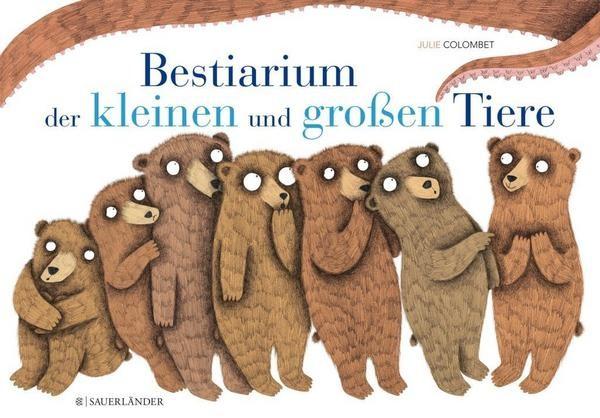 Buch Bestiarium der kleinen und großen Tiere