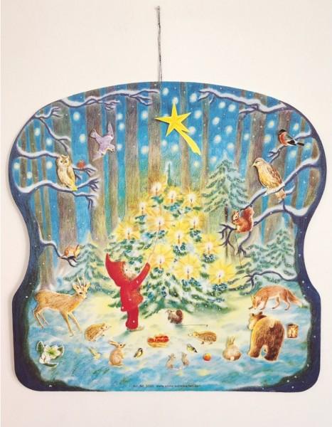 Adventskalender Weihnachten im Walde