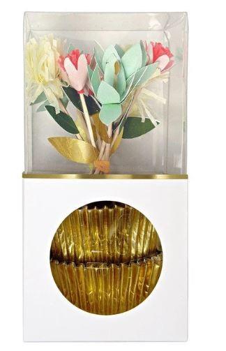 Meri Meri Cupcake Kit Flower Bouquet