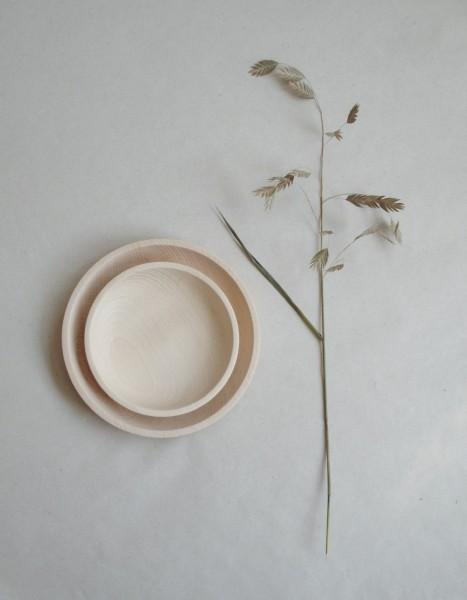 Mikanu Wooden Plate Juna groß