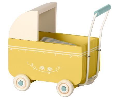 Maileg Puppenwagen My Gelb