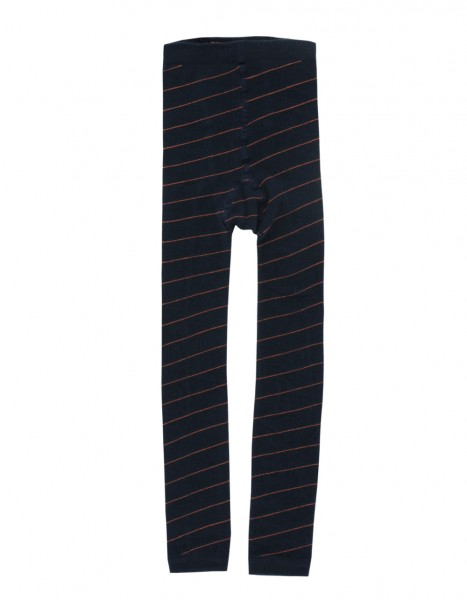 Tinycottons Stripes Leggings navy