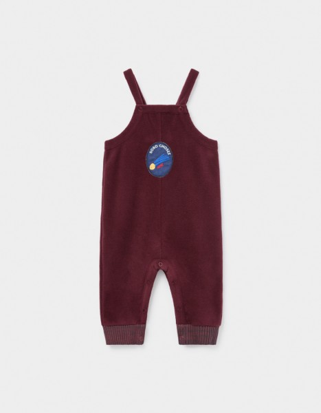 Bobo Choses Patch Polar Fleece Jumpsuit