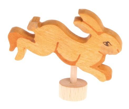 Grimm`s Stecker Hase springend