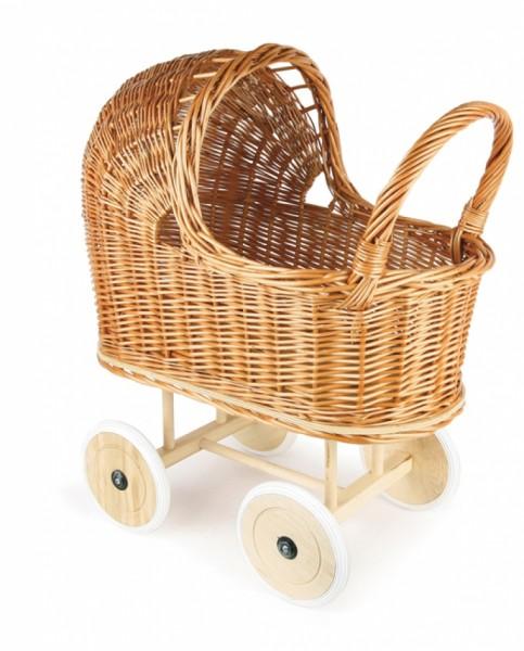 Egmont Toys Weiden Puppenwagen mit Bettwäsche