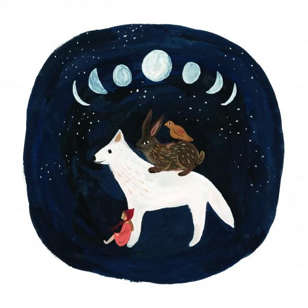 Tijana Draws Print Moods and Moons