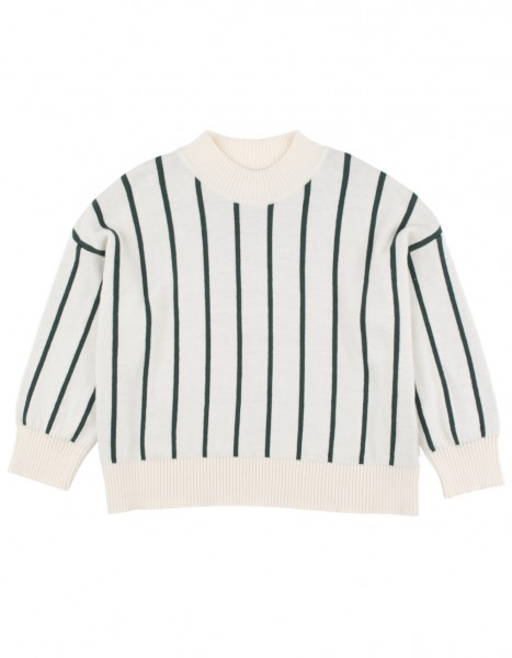 Tinycottons Stripes Pullover beige