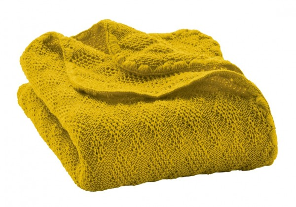 disana Babydecke Bio Merino Wolle - curry