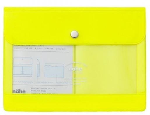 Nähe Portemonnaie neon gelb