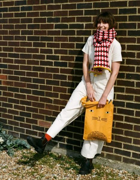 Donna Wilson Mog Tote Bag