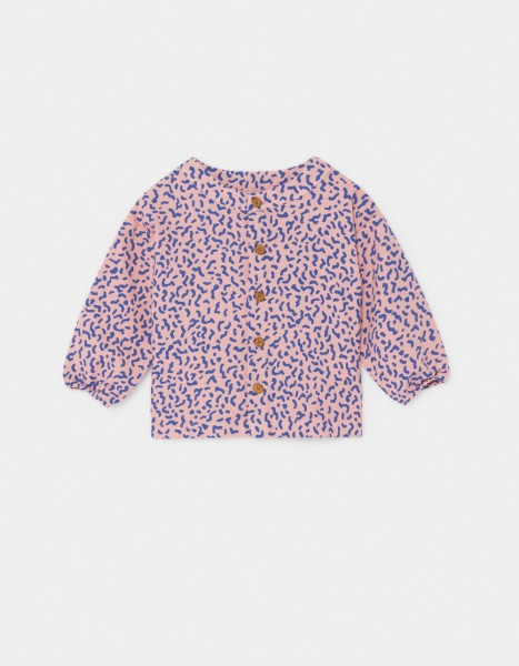 Bobo Choses All Over Stardust Buttons Blouse