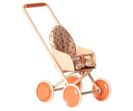 Maileg Buggy Stroller micro coral