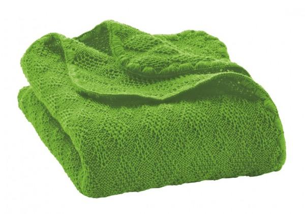 disana Babydecke Bio Merino Wolle - grün