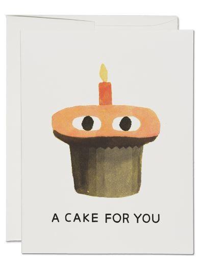 Karte Red Cap Cards Ein Kuchen