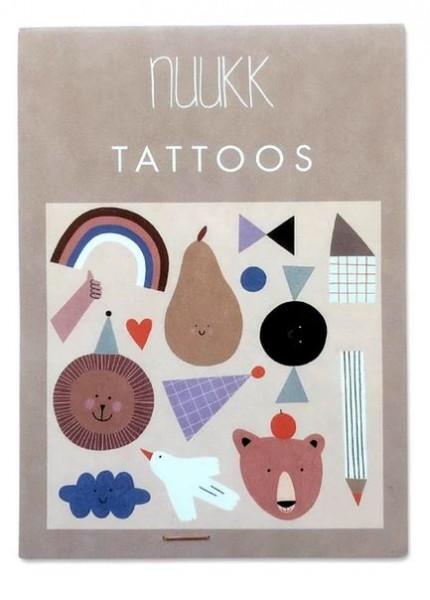 NUUKK Tattoos Happy
