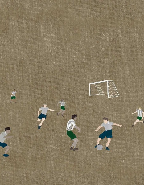 Fine little Day Poster Soccer