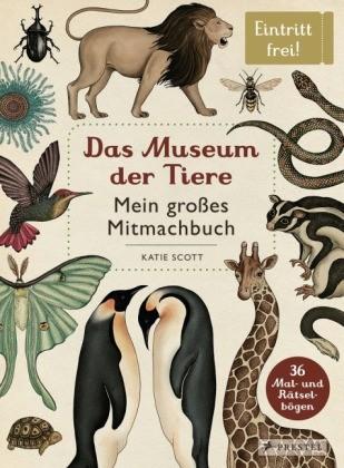 Buch Das Museum der Tiere - Mein großes Mitmachbuch