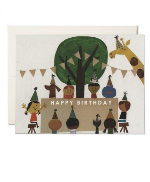 Karte Red Cap Cards Birthday Party
