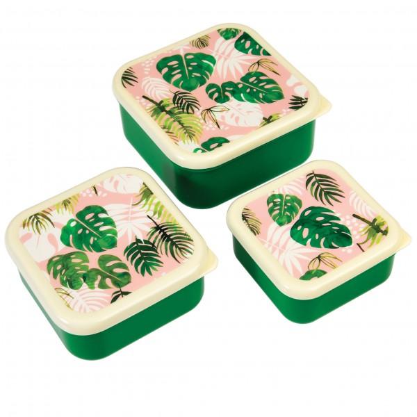 Brotdosen Set Blätter
