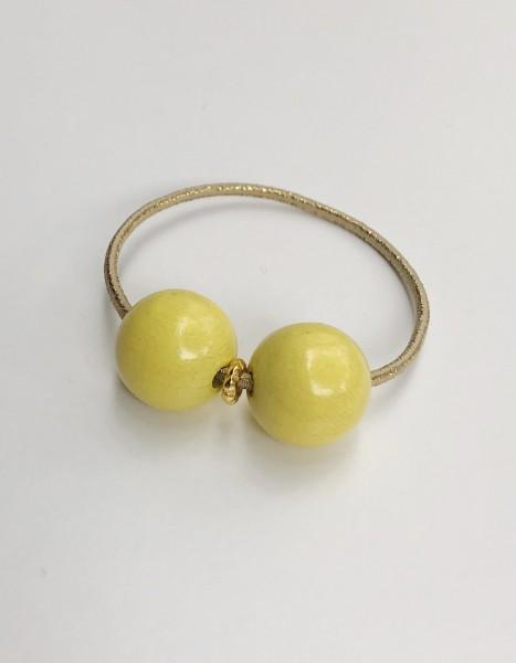 Mamaradscha Haargummi Pastelyellow Gold