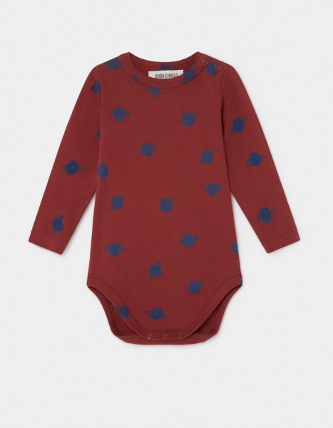 Bobo Choses All Over Small Saturn Long Sleeve Body
