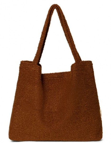Studio Noos Mom Bag Cacao Boucle`