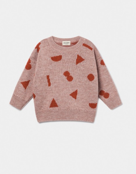 Bobo Choses Stuff Jaquard Jumper