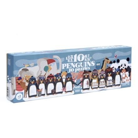 Londji Puzzle 10 Pinguine