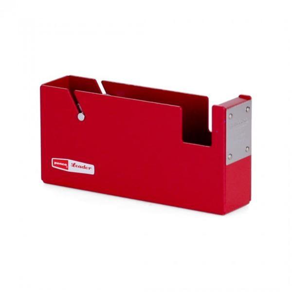 Penco großer Klebeband Abroller Rot