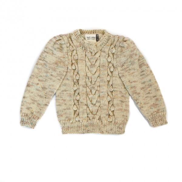 Kalinka Kids Sweater Luna Natur