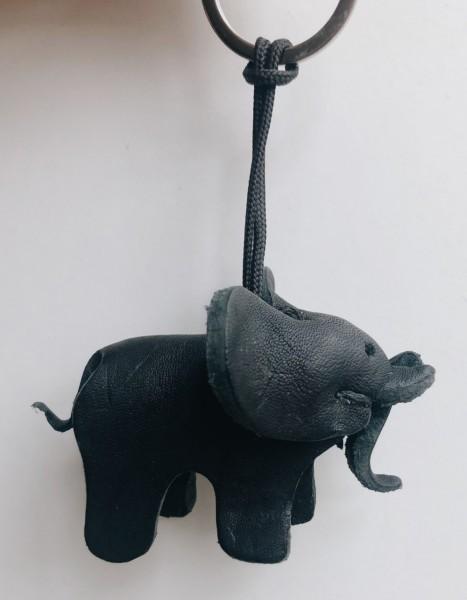 Siyabonga Mama Elefant Schlüsselanhänger schwarz