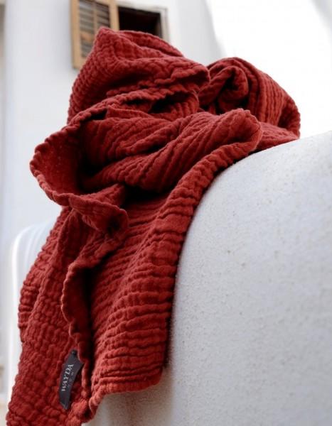Wayda Tuch Oxid Red