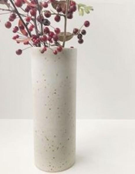 Viki Weiland Vase Zylinder groß