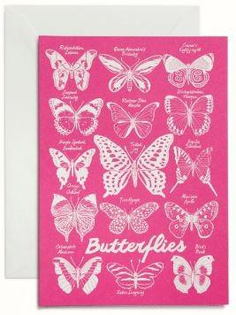 Summer Will Be Back Karte Butterflies