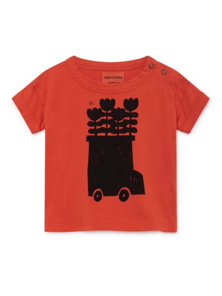 Bobo Choses Baby Flower Bus Short T-Shirt