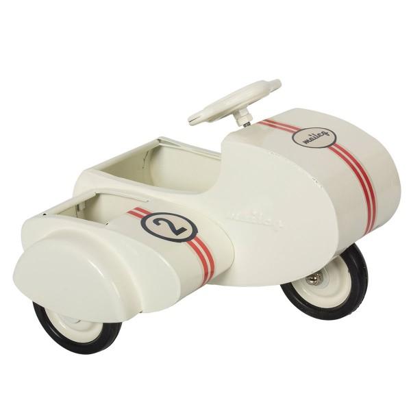 Maileg Scooter mit Beiwagen creme