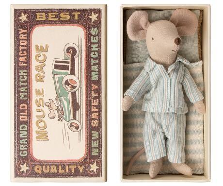 Maileg Maus großer Bruder mit Schachtel Pyjama