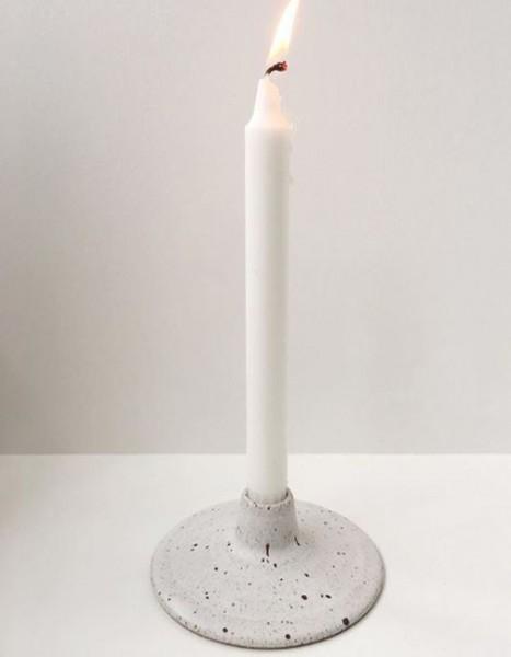 Viki Weiland Kerzenhalter weiß